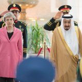 May Calls on Saudis to End Yemen War