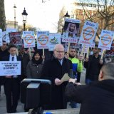 Activists in the UK have also called on British Prime Minister Theresa May to withdraw an invitation to bin Salman.