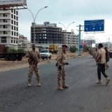 Witnesses said there was heavy security deployment in Aden, and that schools, government service buildings and most shops were shut down.