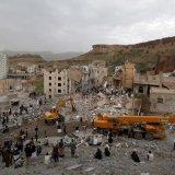 Saudi-Led Airstrikes Kill 14 Civilians in Sanaa