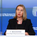 Frederica Mogherini, high representative of the European Union, will visit the United States in November to persuade administration officials not to abandon the Iran nuclear agreement.