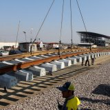 Some 4,000 kilometers of railroads are under construction in Iran.