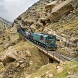 Rail cargo transit in Iran has been on the rise in the past few years.