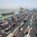 Bushehr Port accounts for more than half of Iran's maritime trade.