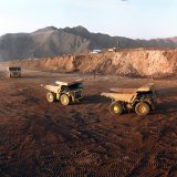 There are 156 iron ore mines in Iran.
