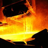 The world's 67 steelmakers produced 1.21 billion tons of crude steel during the eight months, up 4.9% YOY.