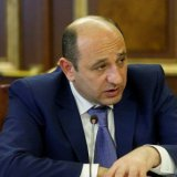 Armenia's Economy Minister in Iran