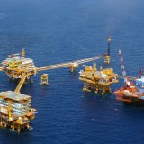 The field's proven, probable and possible reserves are  350 million barrels.