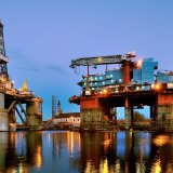 Average breakeven oil price for the upcoming onshore fields is $55 per barrel.