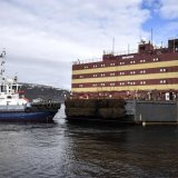 Russia Launches First Floating Nuclear Plant
