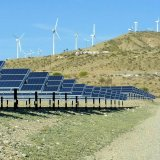 The growth in US solar and wind power output was dramatic.