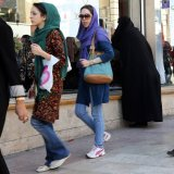 Women's participation in the labor force in Iran is low.