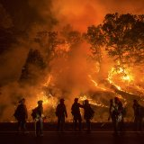 Lighter Winds May Help Battle Calif. Blaze