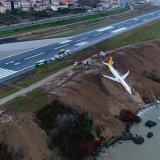 Passenger Plane Skids Off Turkish Coastal Runway