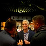 Apple CEO Tim Cook in Wuzhen, Zhejiang province, China, Dec. 2
