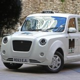 China's Geely is hoping for big sales with the new all-electric black cab.