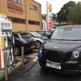 Shell and IONITY will initially have charging points at 80 of Shell's biggest highway fuel stations.