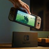 Nintendo beats expectations on new Switch console.