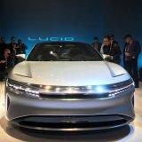 California-based Lucid Motors unveiled a prototype of a luxury sedan the Lucid Air in California on December 14, 2016.