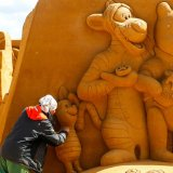 World's Biggest Sand Sculpture Festival Opens in Belgium