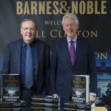Bill Clinton (R) and James Patterson