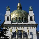 Kirche am Steinhof or Church of St. Leopold designed by Otto Wagner