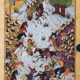 Glass Paintings of Baysonghor Shahnameh on Display