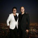 Hojat Ashrafzadeh (L) and Christopher von Deylen