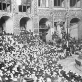 Tekyeh Dowlat was the famous Qajar venue for Ta'zieh performances.