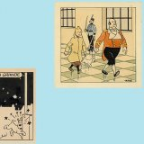 Rare Tintin Drawings on Auction in Paris