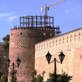 Karim Khan Citadel is the most famous structure belonging to Zand Dynasty.