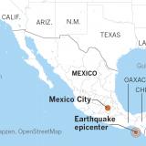 Strong Quake Jolts SE Mexico