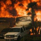 California Wildfires Threaten 12,000 Homes