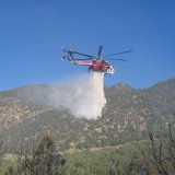 Low-Capacity Choppers Inefficient as Firefighters