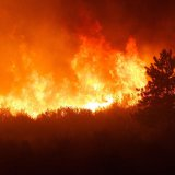 Wildfire Flaring Up in Parched Oklahoma