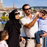 Halal tourism is geared toward Muslim families who abide by Islamic rules.