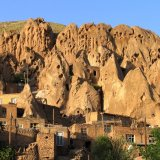 Kandovan Village is a wonderful example of manmade cliff dwelling that is still inhabited.