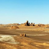 Lut is a vast desert that extends across three provinces, but the bulk of it lies in the southern province of Kerman.