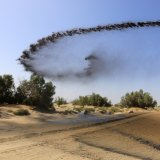 Mulching Continues in Arid Provinces