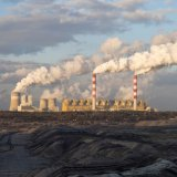 A coal-fired utility plant in Belchatow, Poland