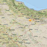 One Dead in Tehran Tremor
