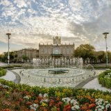 Sa'at Tower also known as Tabriz Municipality Palace is the city hall and main office of the municipal government of Tabriz.