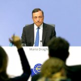 ECB chief Mario Draghi says monetary policy is necessary for economic recovery. He did not seem overly concerned,  giving markets the green light to push the euro higher.