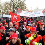 German Industrial Workers Strike Over Pay and Working Hours