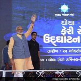 Modi Assures Economy Strong, in Right Direction