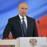 Vladimir Putin begins historic fourth term as president.