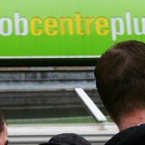 Unemployment  in Scotland Falls