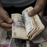 Argentine central bank forecast an exchange rate  of 24 pesos per dollar for the year.