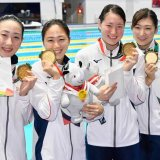 Japan swimmers have won half of the nation's  overall 104 medals.