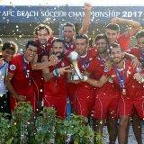 Iran's national beach soccer team won the AFC Beach Soccer Championship 2017.